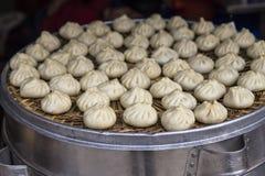 Baozi-snack in chengdu,china. Baozi-snack  is taken in chengdu,china Royalty Free Stock Photography