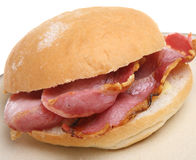 Bap do bacon fotos de stock