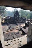 Baphuon寺庙在暹粒,柬埔寨。 免版税库存照片