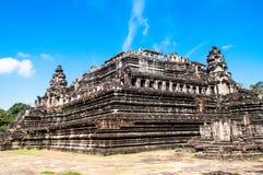 Baphuon is een tempel in Angkor Thom Stock Fotografie