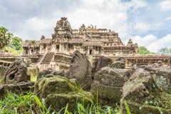 Baphuon-Tempelruinen in Angkor Thom in Kambodscha Lizenzfreie Stockfotos