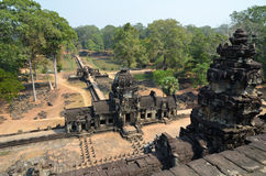 Baphuon temple at Angkor Stock Image
