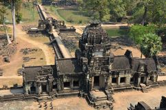Baphuon temple at Angkor Stock Images
