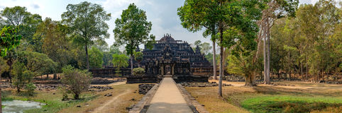 Baphuon Temple in Angkor Complex, Cambodia Royalty Free Stock Photos