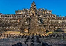 Baphuon temple angkor thom cambodia Royalty Free Stock Photos