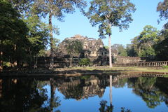 Cambodia. Angkor Thom City. Baphuon Temple. Siem Reap Province. Siem Reap City. Royalty Free Stock Image