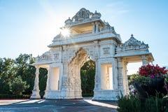BAPS Shri Swaminarayan Mandir of Chicago royalty free stock image