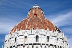 Bapstistery Pisa #9 Imagens de Stock