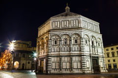 Baptestry of Florence Cathedral Stock Photography