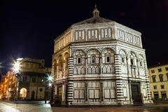 Baptestry van de Kathedraal van Florence stock fotografie