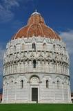 Baptisery na piazza dei Miracoli, Pisa, Włochy Zdjęcie Stock