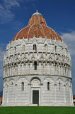 Baptisery on Piazza dei Miracoli, Pisa, Italy Stock Photo