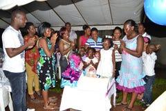 BAPTISM OF CHILDREN Stock Images