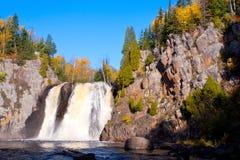 Baptism falls, autumn Stock Image