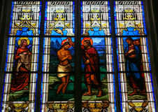 Baptism of Jesus by Saint John Royalty Free Stock Photo