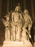 Baptism of jeusus - madeleine church in Paris Royalty Free Stock Photos