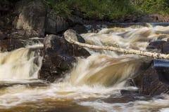 Baptism River Falls Stock Image