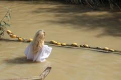 Baptism Site Qasr el Yahud. Israel Royalty Free Stock Photo