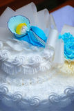 baptismal торт Стоковые Фотографии RF