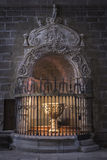 Baptismal Chapel of the cathedral of Avila, Spain Royalty Free Stock Image
