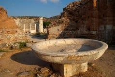 Baptismal Font stock photos