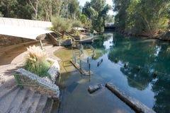 Baptismal site Yardenit Royalty Free Stock Images