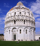 Baptistère de St John en Italie Image stock