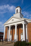Baptist Church. On Main Street in Clinton, Tennessee Royalty Free Stock Image