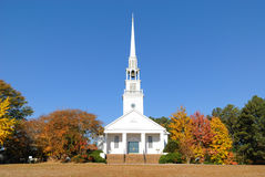 Baptist Church. A southern Baptist Church in rural surroundings Stock Images
