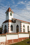 Baptist church caribbean island nicaragua Royalty Free Stock Images