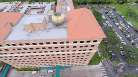 Aerial Baptist Hospital Miami Stock Footage - Video of drone