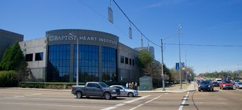 Baptist Hospital Heart Institute, Memphis Tennessee fotografia de stock