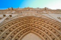 baptiste de la mezclilla del santo de la catedral, Lyon, Francia Imagen de archivo libre de regalías