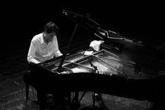 Baptiste Trotignon Klavier Stockbilder