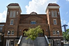 Baptistenkirche in Birmingham, Alabama Lizenzfreie Stockbilder