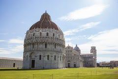 Baptisterio de Pisa Foto de archivo libre de regalías