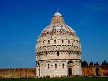 Baptisterio de Pisa, Italia Imagen de archivo