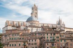 Baptisterio de Siena Imagen de archivo libre de regalías