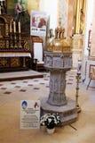 Baptisterio de Wadowice Imagenes de archivo