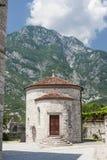 Baptisterio en Venzone Foto de archivo libre de regalías