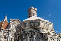 Baptistery święty John w Florencja, Włochy Zdjęcie Royalty Free
