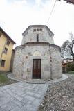 Baptistery  in Agrate Conturbia, Italy Stock Photos