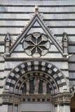 Baptistery av San Giovanni i corte, pistoia, tuscany, Italien, Europa arkivbilder