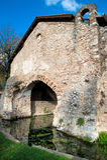Baptistery av San Giovanni, Padula, SA Italien Arkivbilder