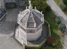 The baptistery of Bergamo Stock Images