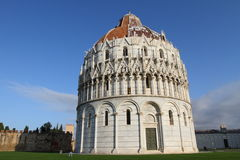 Baptistery of the Cathedral of Pisa Royalty Free Stock Images