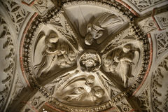 Baptistery ceiling in Sibenik Cathedral Stock Photography