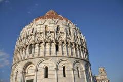 Baptistery da catedral de Pisa Imagem de Stock Royalty Free