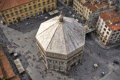 Baptistery de Florença fotografia de stock royalty free