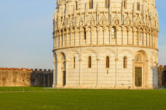 Baptistery detail Royalty Free Stock Photography